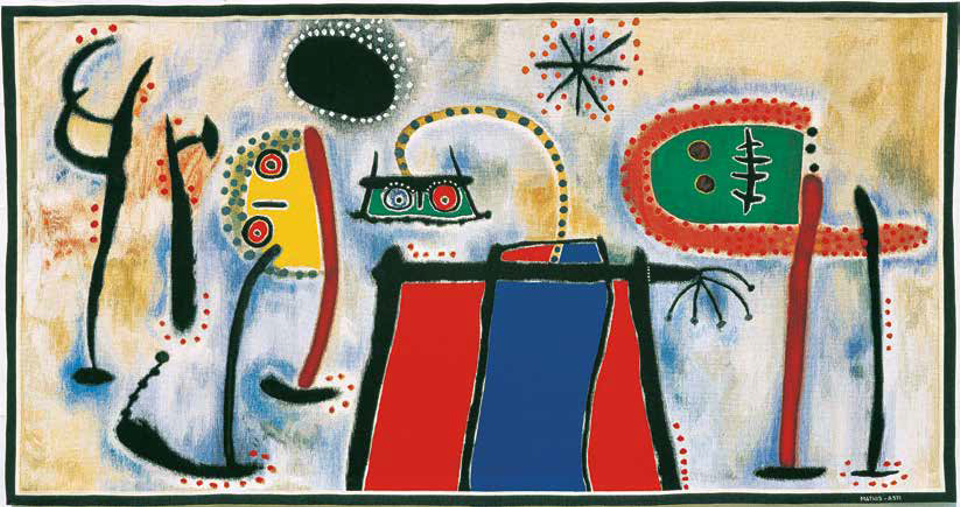 Joan Miró, Composition (1985)