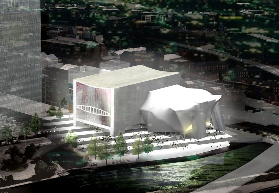 A rendering of how The Factory in Manchester will look