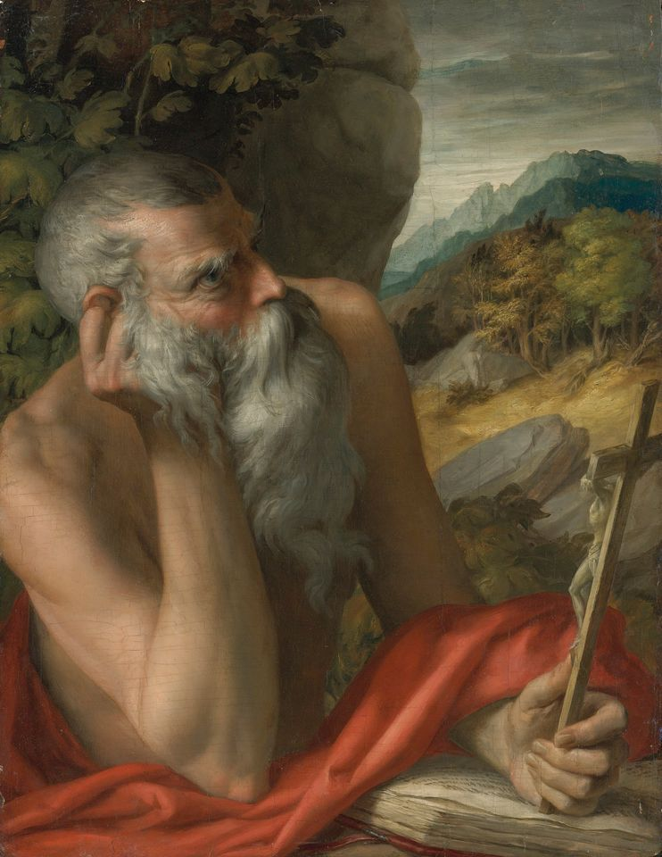 Two separate investigations found that Saint Jerome, attributed to Parmigianino, is a modern fake