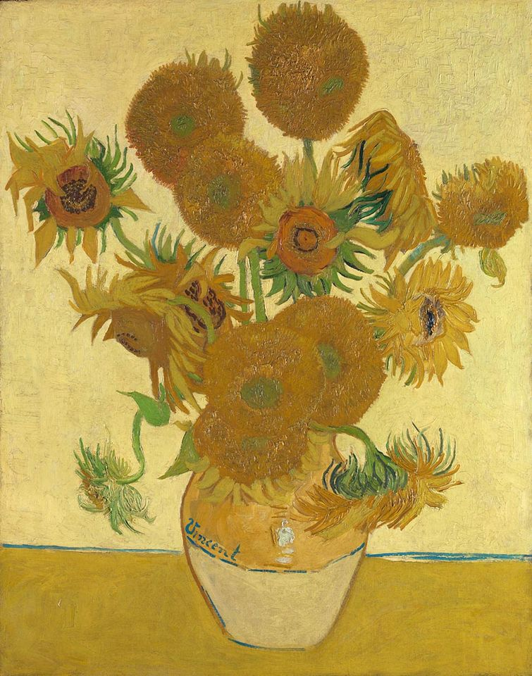 Sunflowers, August 1888, National Gallery, London