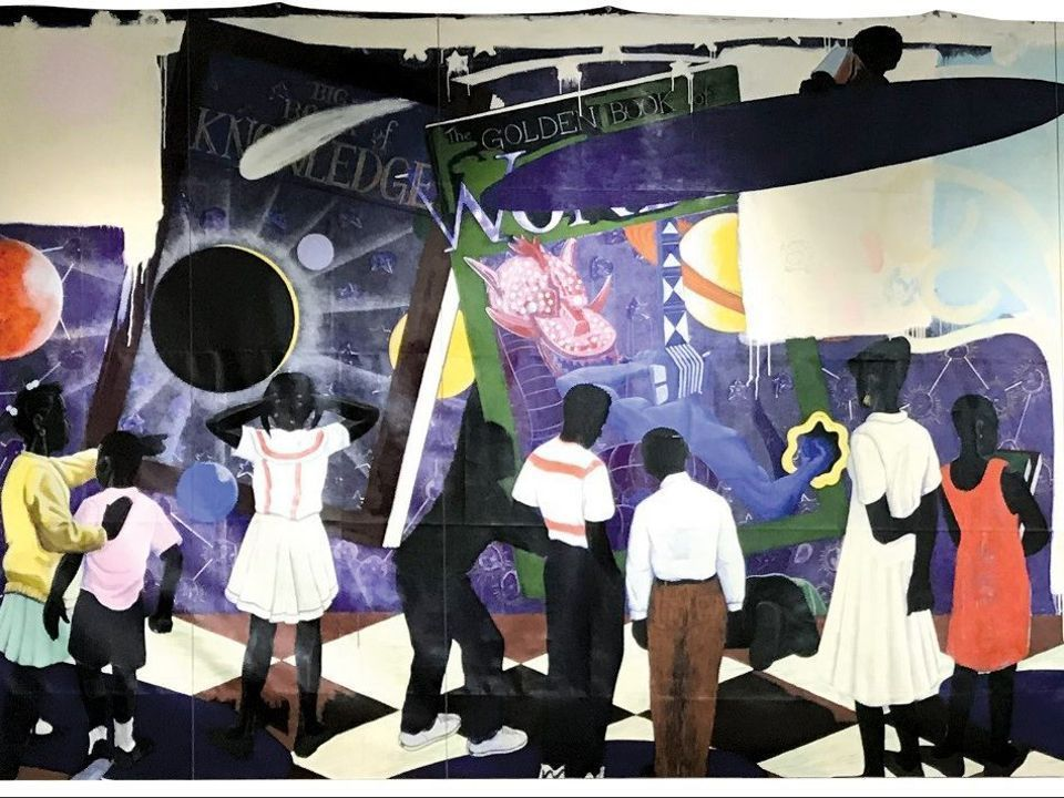 Kerry James Marshall, Knowledge and Wonder (1995)