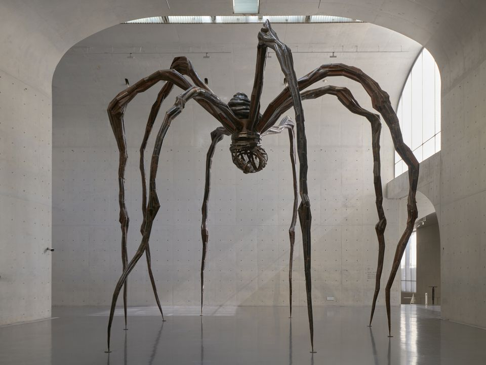 Louise Bourgeois's Maman (1999) is on show at the Long Museum