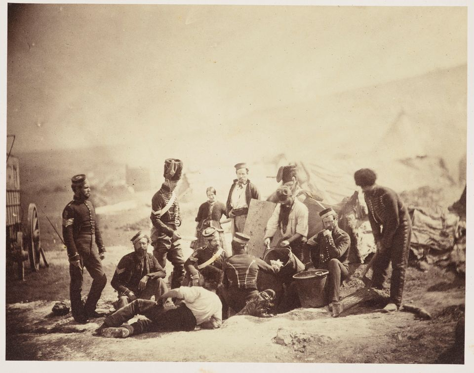 Roger Fenton's 8th Hussars Cooking Hut (1855)