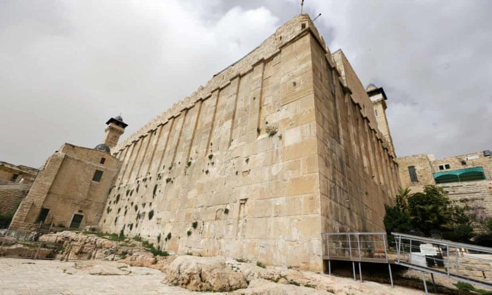 The Ibrahimi mosque/Tomb of the Patriarchs, revered by both Muslims and Jews, in Hebron