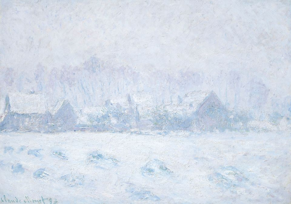 Monet's Effet de neige à Giverny (1893) sold for $13.5m ($15.5m with fees)