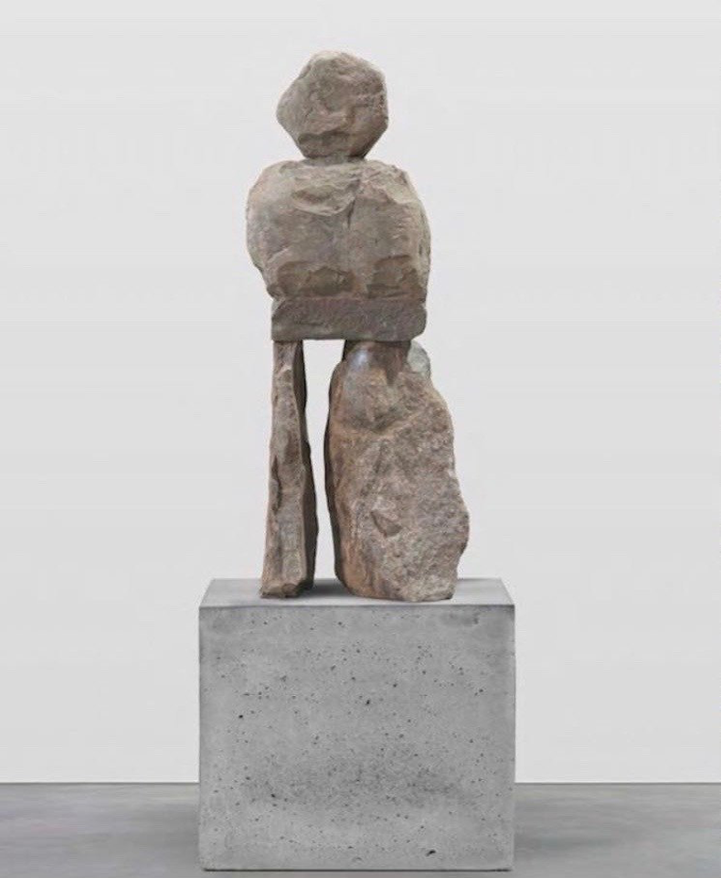 Ugo Rondinone's The Dainly (2017), sold for a price in the region of €250,000 in Luxembourg