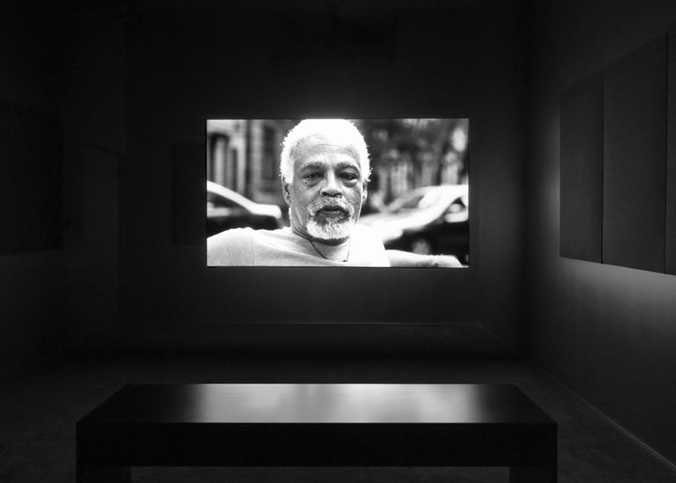 Adam Pendleton, Ishmael in the Garden: A Portrait of Ishmael Houston-Jones (2018) Single-channel black-and-white and color video,  Ed. 1/5 + 2 AP<, 24:15 min