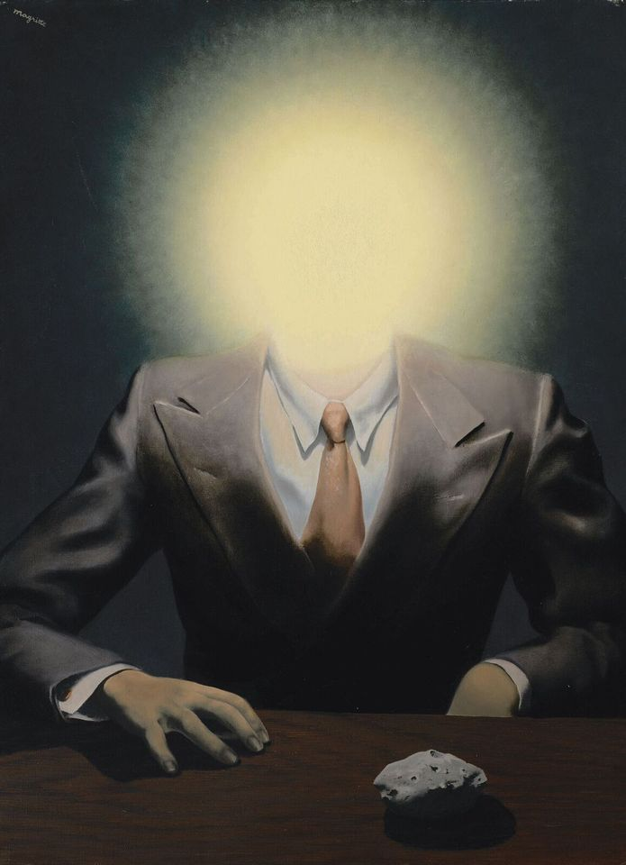 Magritte's Le principe du plaisir brought $23.5m ($26.8m with fees) in the top result at Sotheby's