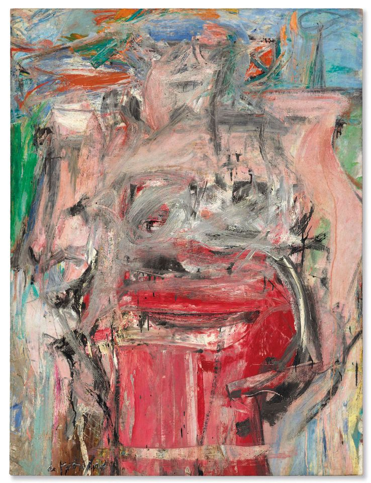 Willem de Kooning's Woman as Landscape sold for $61m ($68.9m with fees)