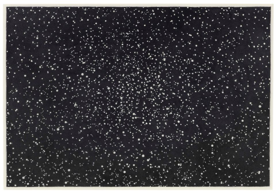 Vija Celmin's Star Field I, sold for $2m ($2.4m with fees)
