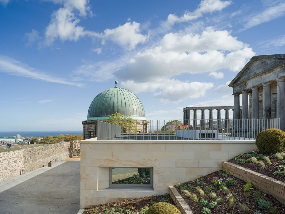 Collective's new gallery is housed in the neoclassical City Observatory and the City Dome