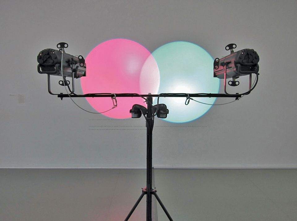 Amalia Pica, Venn Diagrams (Under the Spotlight) (2011)