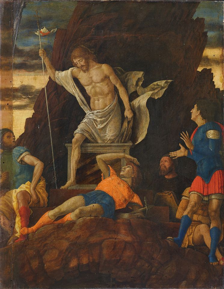 Attributed to Andrea Mantegna The Resurrection of Christ (around 1492)