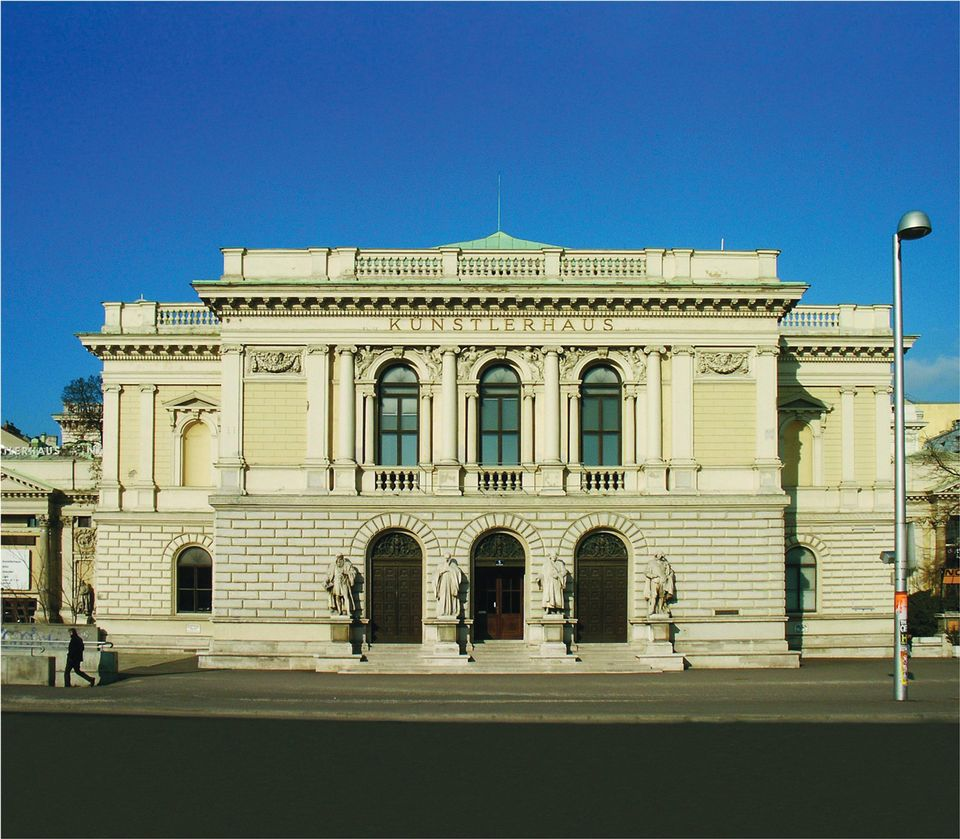 The Künstlerhaus on Vienna's Karlsplatz will be renovated as a new venue for the Essl collection