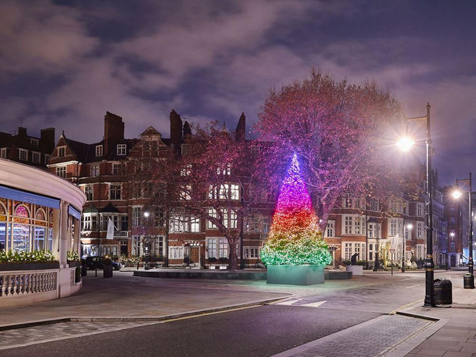 The Connaught Christmas Tree 2018