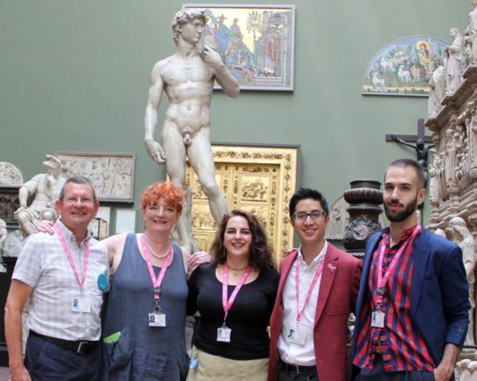 The LGBTQ+ tours  at Cambridge Museums was an outgrowth of a similar programme at the Victoria & Albert Museum