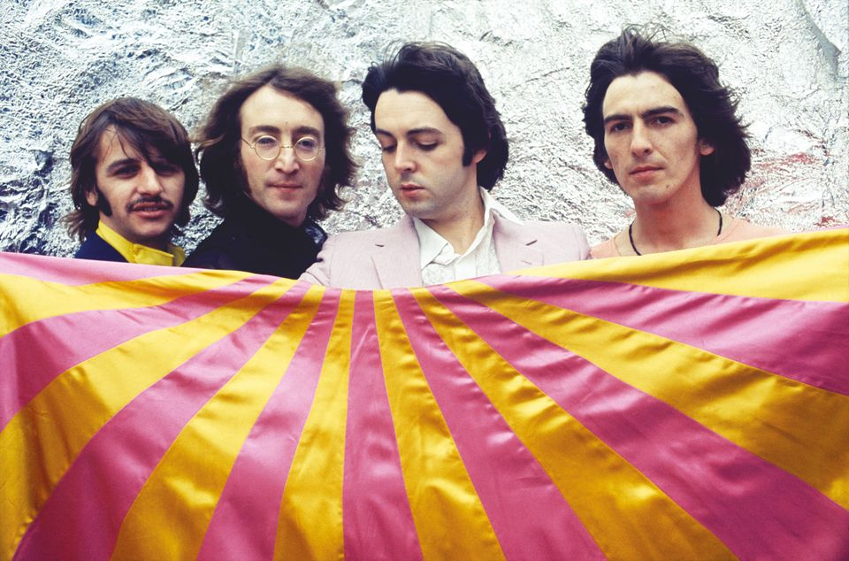 Photo session at Thomson House, London. 28 July 1968