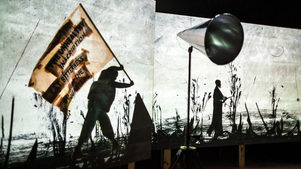 William Kentridge: More Sweetly Play the Dance May 19–Sunday, January 20, 2019 MDC Museum of Art and Design Freedom Tower, 2nd Floor
