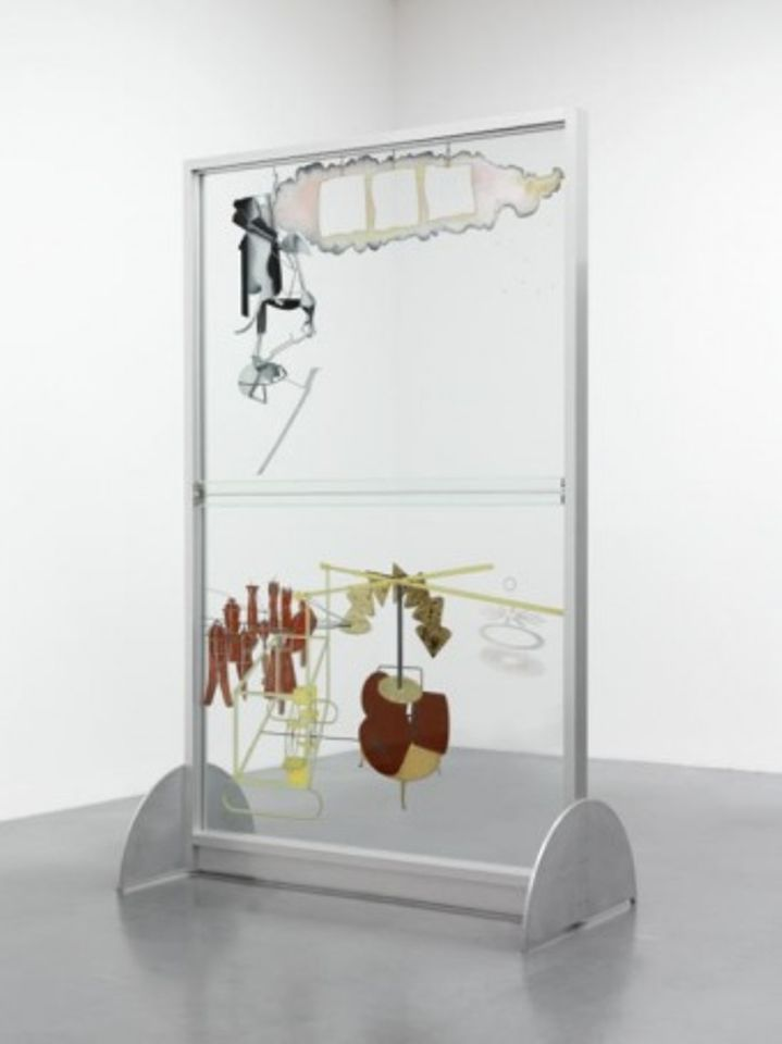 Marcel Duchamp The Bride Stripped Bare by her Batchelors, Even (The Large Glass) (1915–23), reconstruction by Richard Hamilton (1965–6)