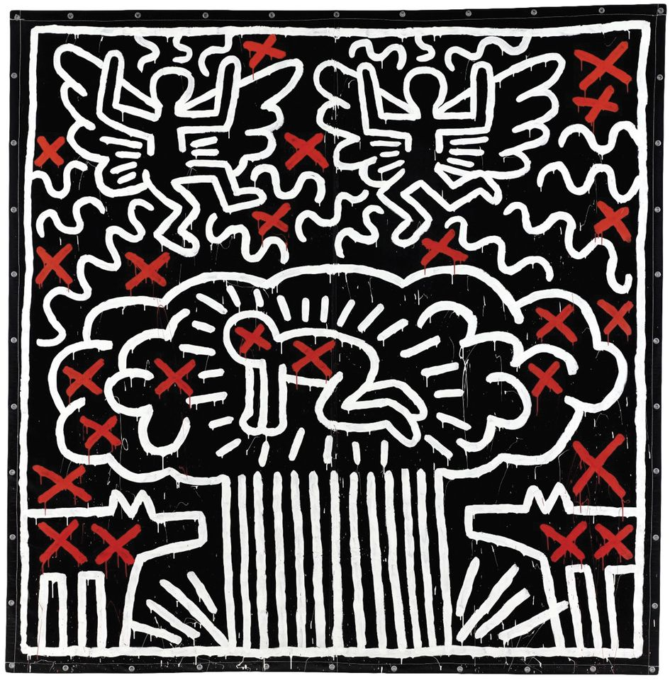 Keith Haring's Untitled (1982)