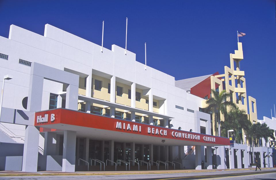 The old Miami Beach Convention Center