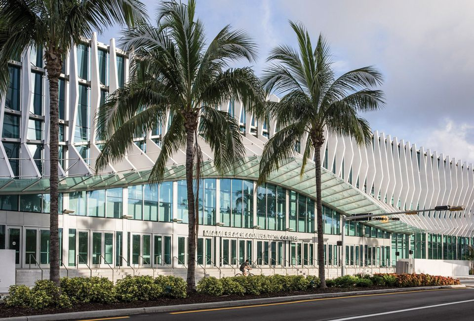 The new-look Miami Beach Convention Center
