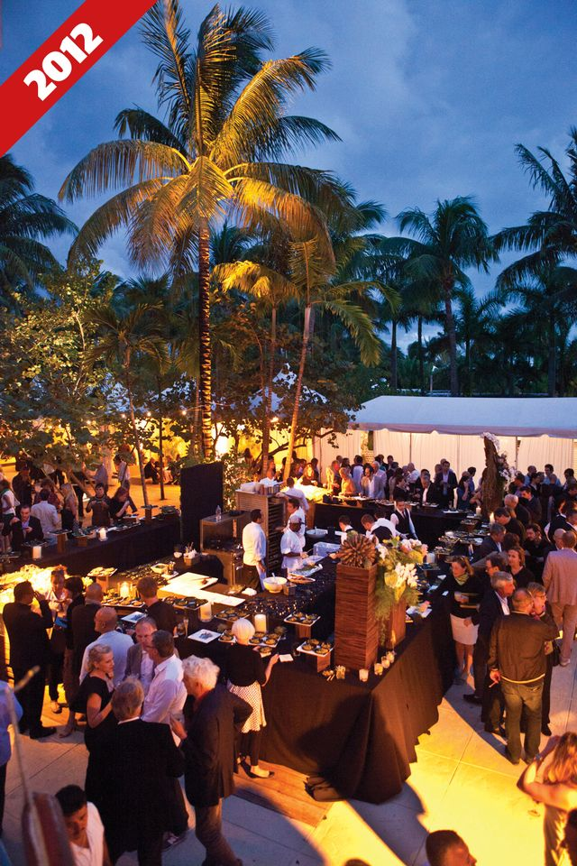Art Basel in Miami Beach's opening party at the Raleigh Hotel