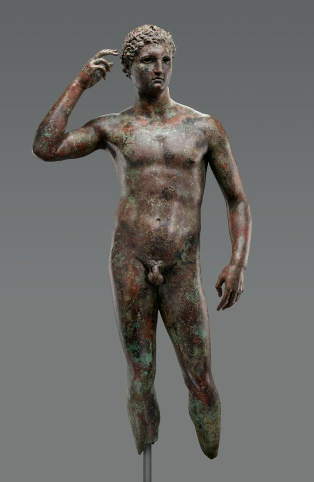 The J. Paul Getty Museum's Statue of a Victorious Youth , 300–100B.C.