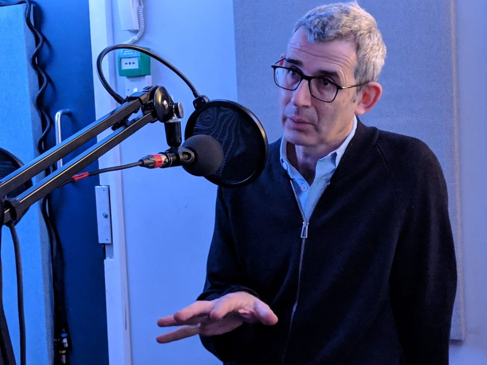Edmund de Waal speaking on The Art Newspaper podcast