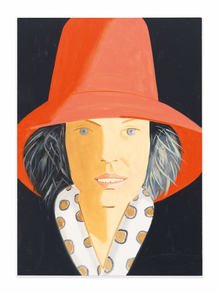 Yours for $500,000: Red Hat (Nicole) (2013) by Alex Katz