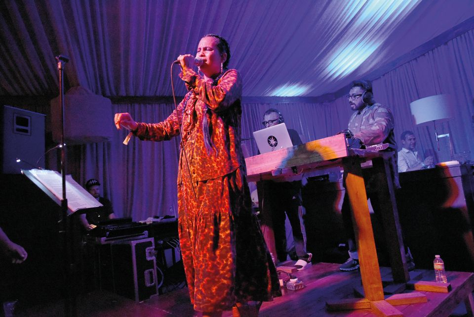 Neneh Cherry performs live at White Cube