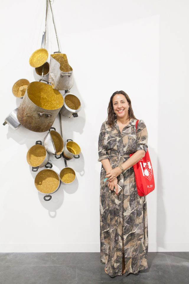 Touria El Glaoui, the founder of 1-54 Contemporary African Art Fair