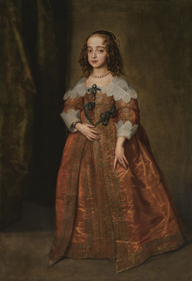 Sir Anthony van Dyck and Studio, Portrait of Mary, Princess Royal and Princess of Orange (est £600,000-£800,000)