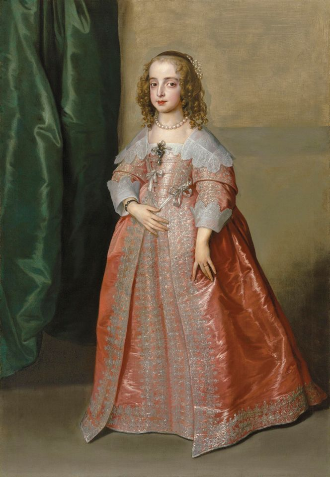 Anthony van Dyck's portrait of Princess Mary, sold for £5m (£5.9m with fees)