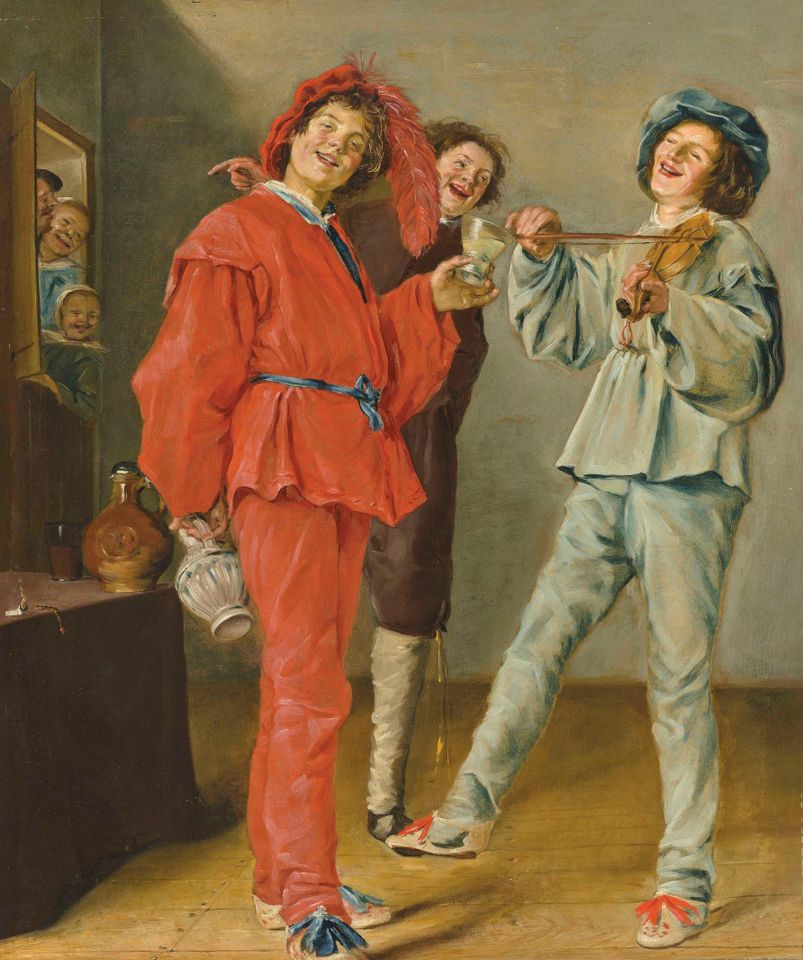 Merry Company (around 1629) by Judith Leyster, which sold for £1.5m (£1.8m with fees)