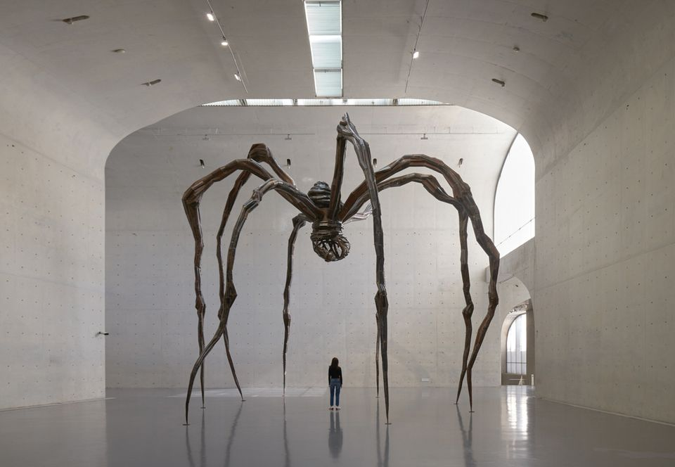 Louise Bourgeois's Maman (1999) at the Long Museum in Shanghai