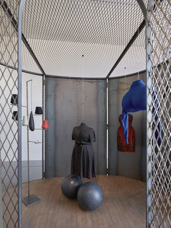 Louise Bourgeois's Cell (Black Days) (2006)