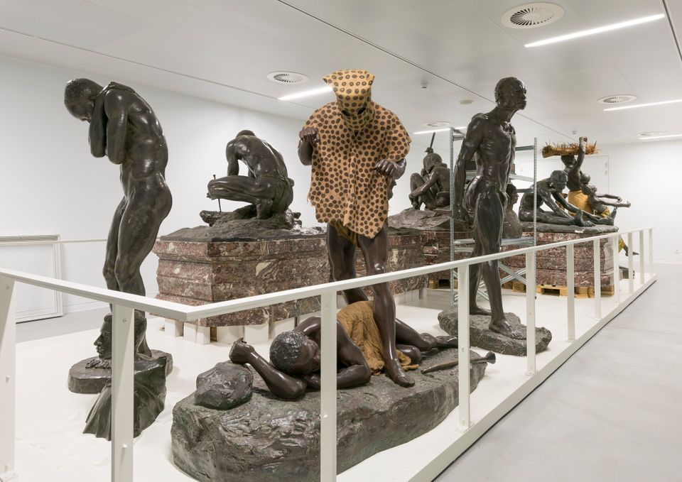 One of the galleries in the new Africa Museum in Belgium