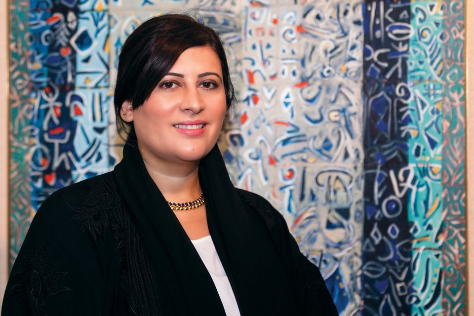 Manal Ataya, the director-general of the Sharjah Museums Authority