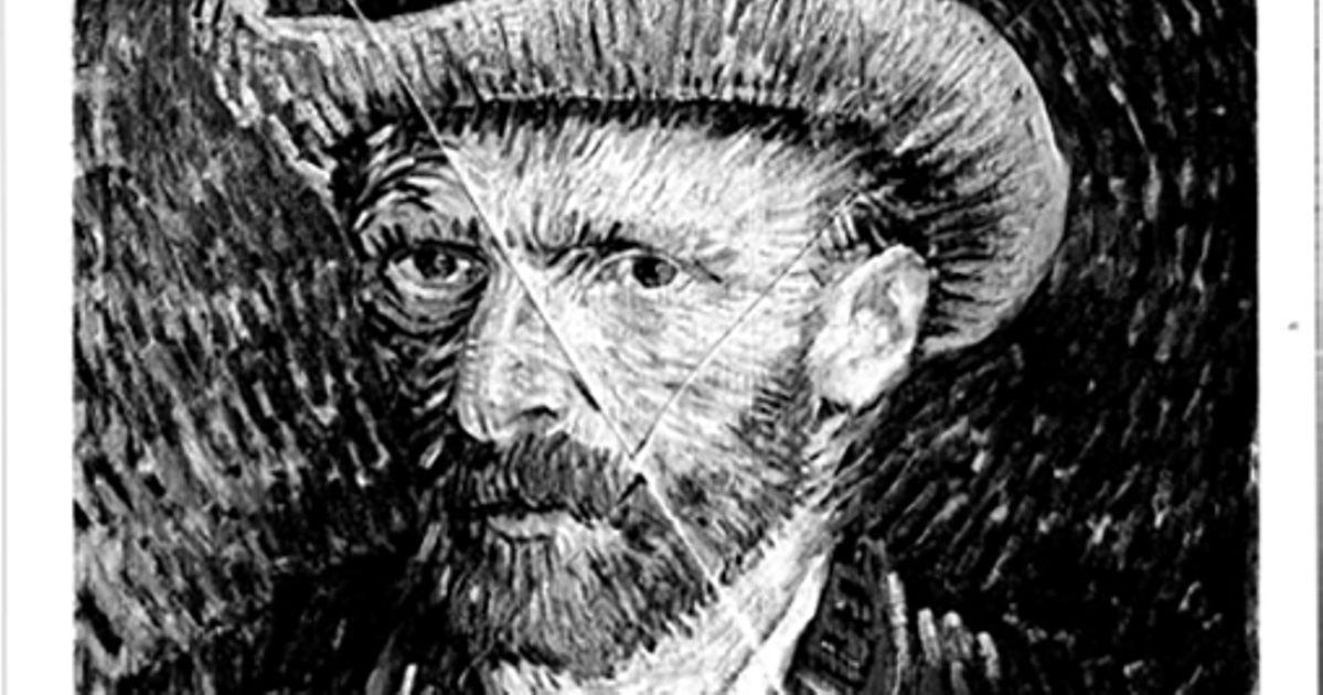 Revealed online for the first time: photograph showing Van Gogh painting slashed in 1978