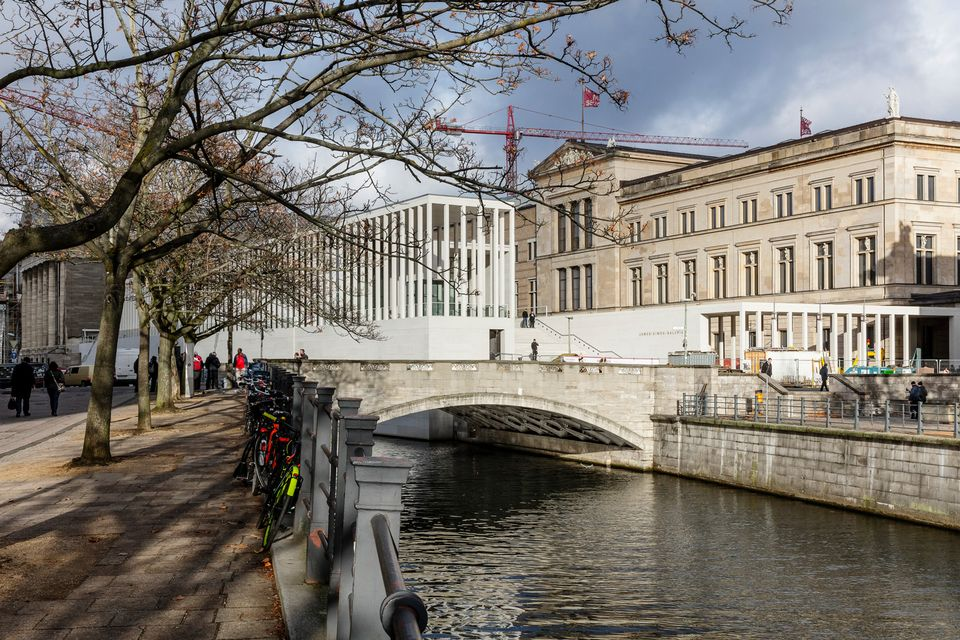 James Simon Gallery, the new entrance building to Museum Island in Berlin, opening in summer 2019