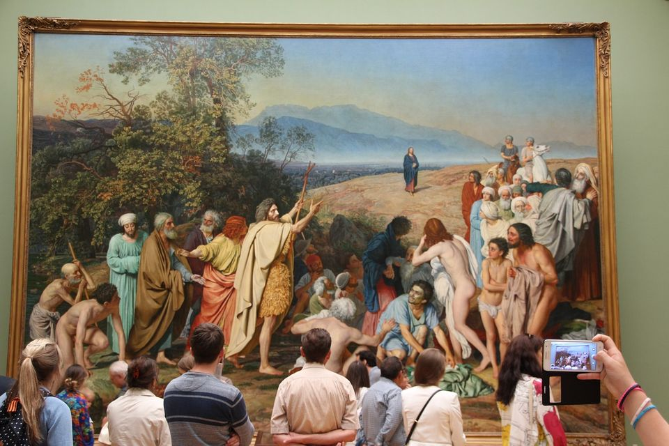Moscow's Tretyakov Gallery wants to overcome geographical limitations and engage a younger audience