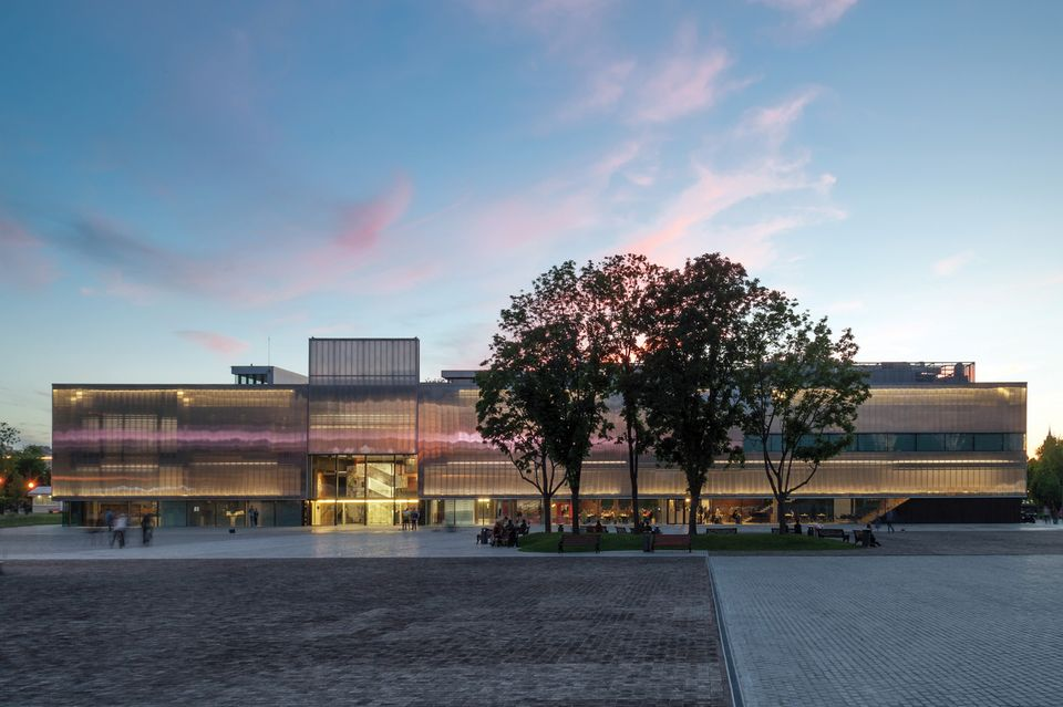 The Garage Museum of Contemporary Art in Moscow's Gorky Park