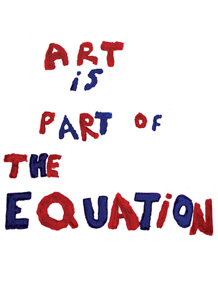 Art is Part of the Equation
