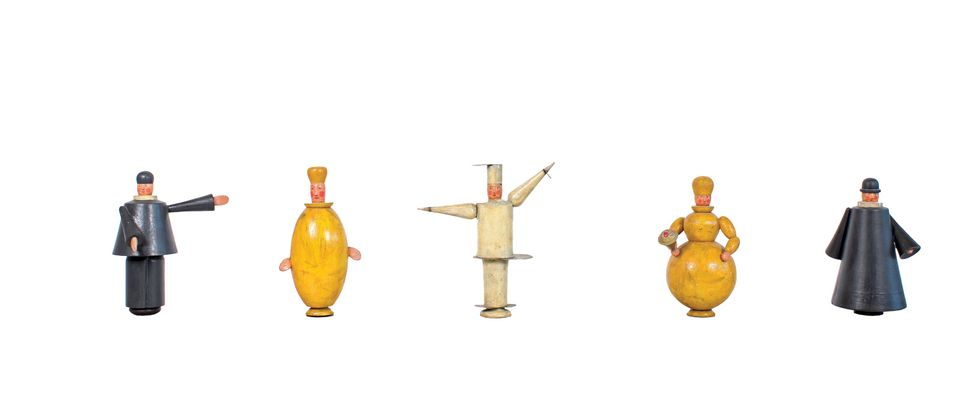 Eberhardt Schrammen's hand puppets will be on show at the new Bauhaus Museum Weimar, which is due to open in April