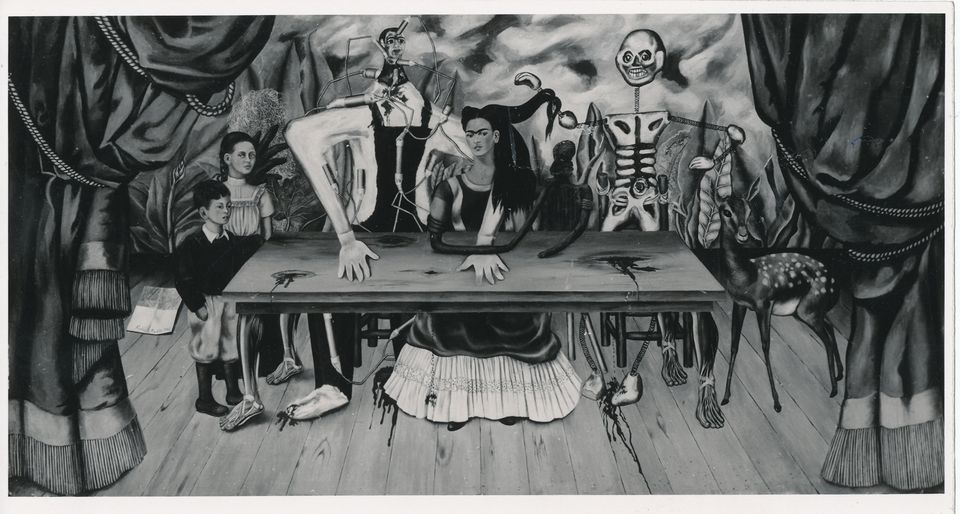 Frida Kahlo's The Wounded Table (1940) went missing in 1955, after going on show in Warsaw