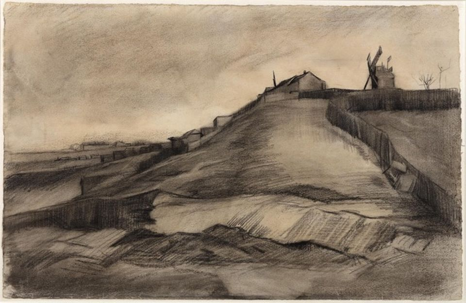 Van Gogh, Hill of Montmartre with a Stone Quarry (March 1886), John and Marine van Vlissingen Art Foundation
