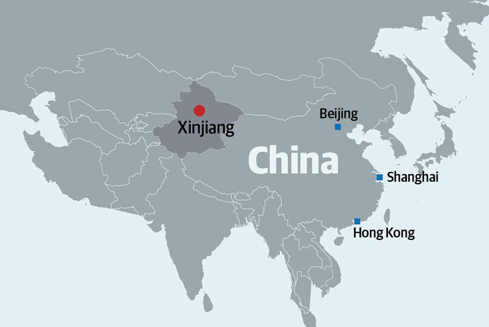 One million Uyghurs are believed to be in Xinjiang's re-education camps