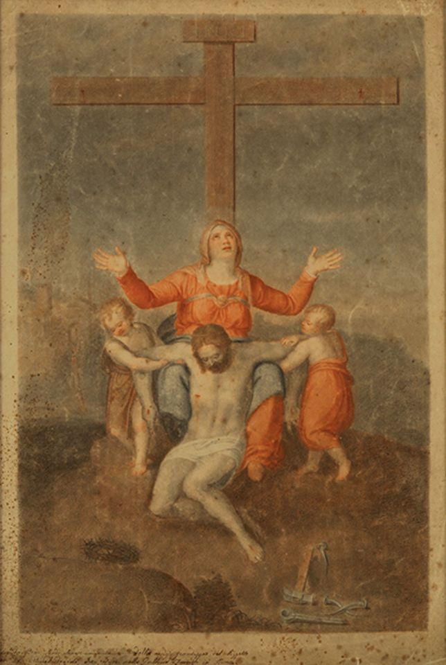 Company paid $75m for a painting described as a Michelangelo pietà
