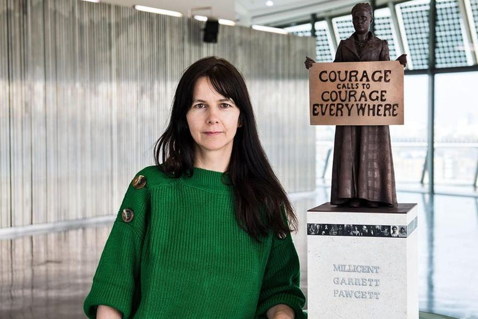 Gillian Wearing was made a CBE